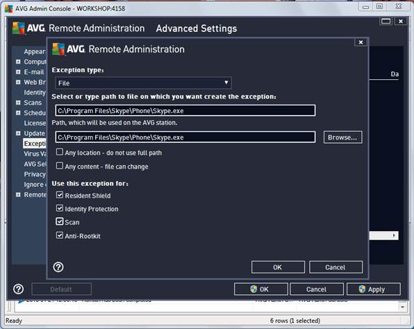 AVG Remote Admin