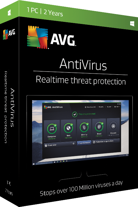 AVG Antivirus 2 Years License