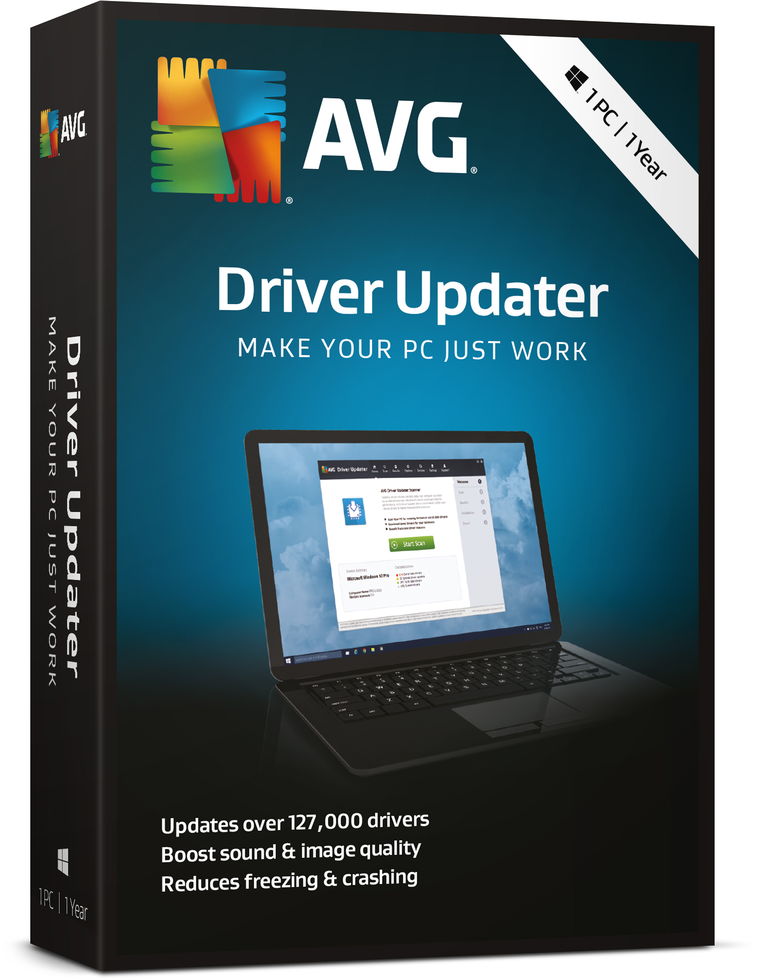 AVG Driver Updater 1 Computer 2 Years License