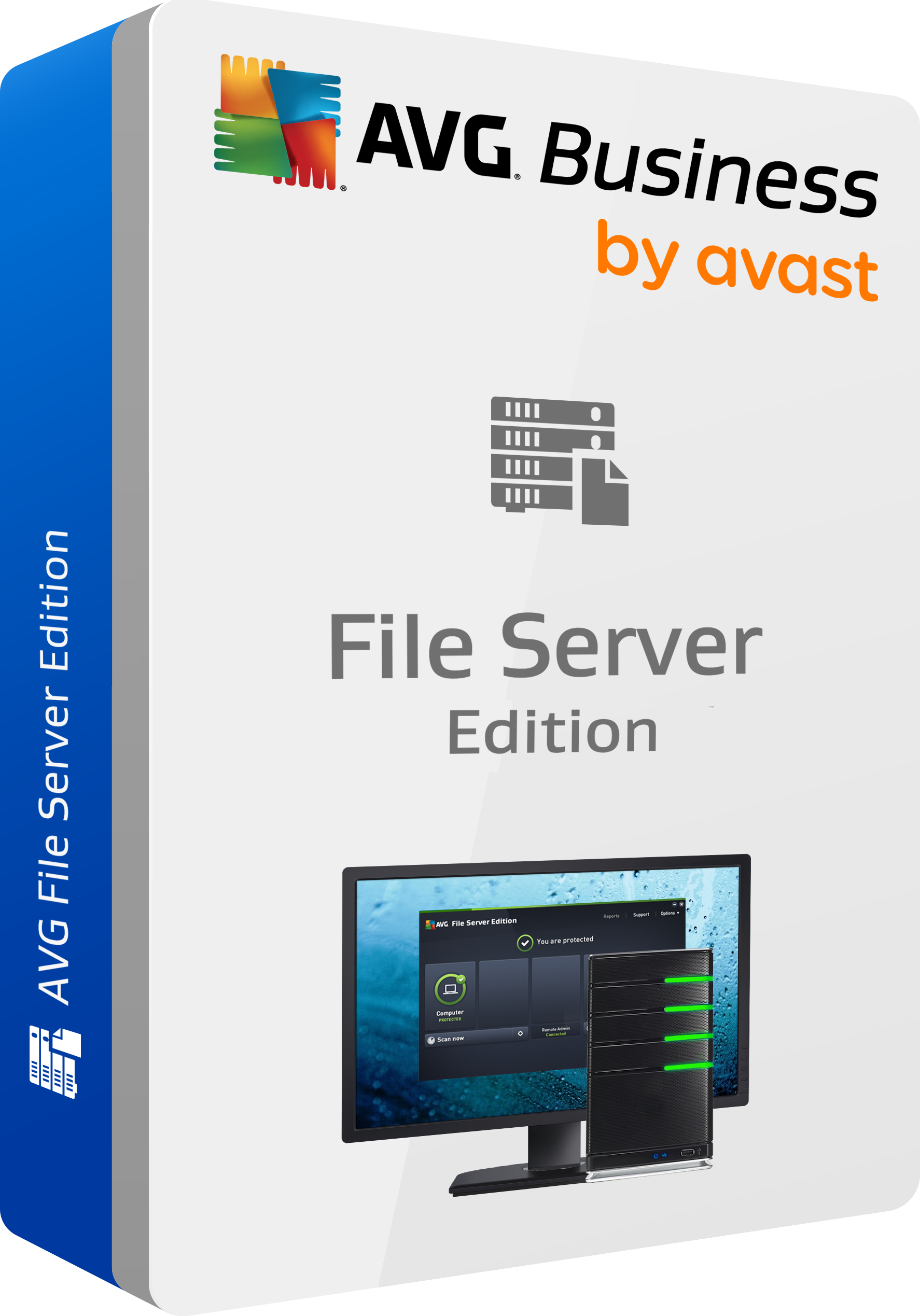 AVG File Server Business Edition, 1 Year License