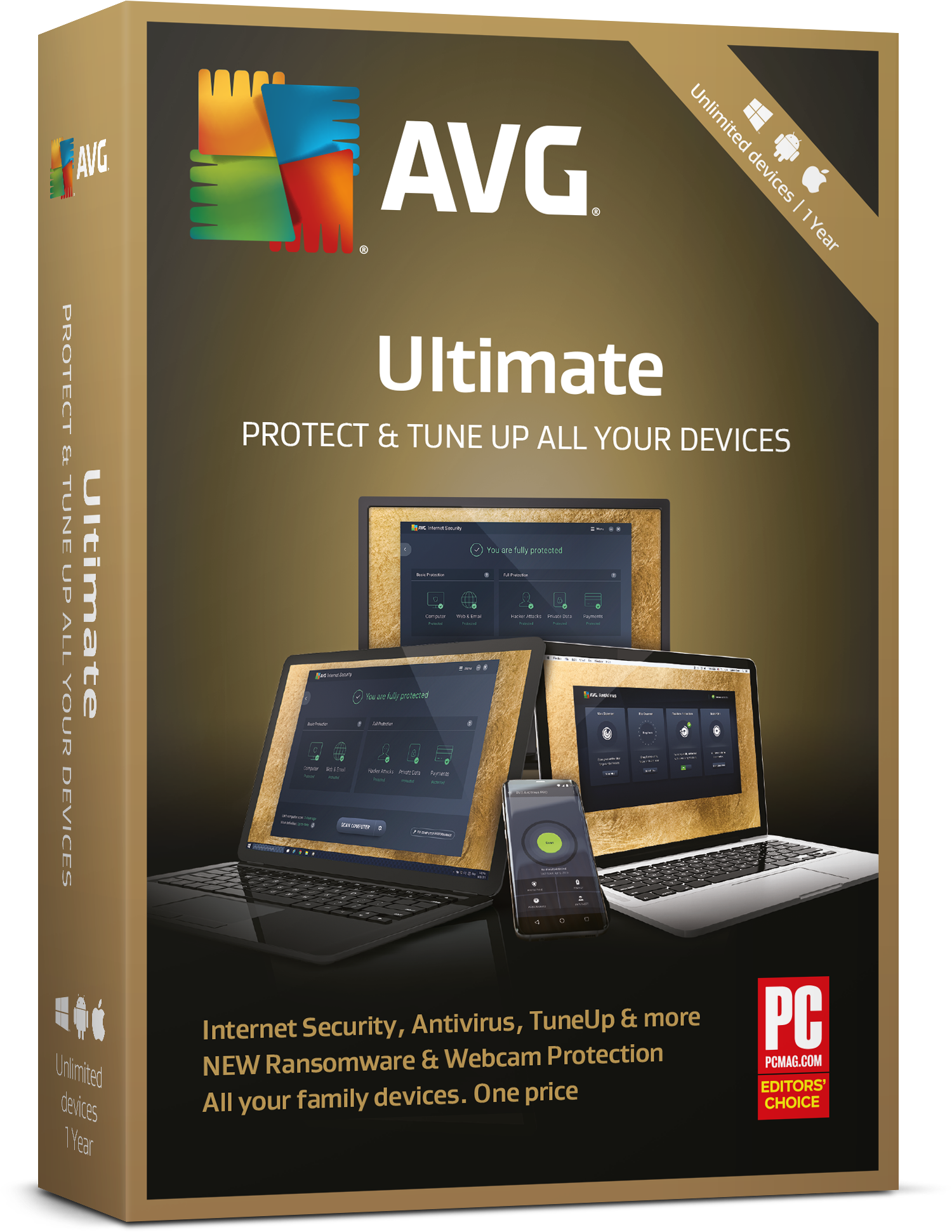 AVG Ultimate Multiple Devices 1 Year License