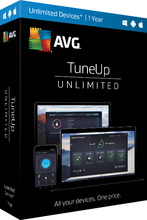 AVG TuneUP Unlimited Devices 1 Year License